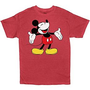Boys 8-20 Disney Mickey Mouse Tee