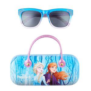 Disney's Frozen 2 Girls 4-16 Elsa Sunglasses with Case Set