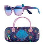 Girls 4-16 Disney's Little Mermaid Sunglasses with Case Set