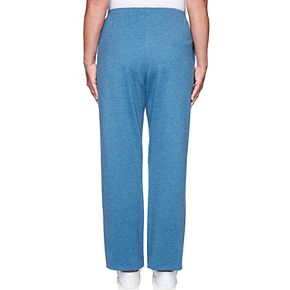 Women's Alfred Dunner Pull-on French Terry Pants