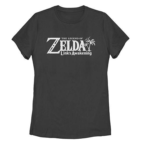 Juniors' Nintendo Legend Of Zelda Link's Awakening Logo Tee