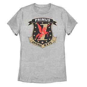 Juniors' Battlestar Galactica Primus Badge Tee
