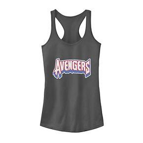 Juniors' Marvel Avengers Sport Style Logo Tank Top