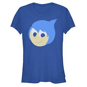 Juniors' ©Disney Pixar Inside Out Joy Face Costume Tee
