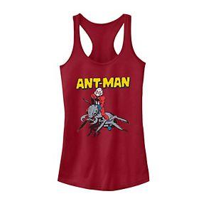 Juniors' Marvel Ant-Man Vintage Ant Riding Portrait Tank