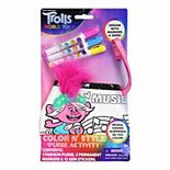 DreamWorks Trolls World Tour Color N' Style Purse Activity
