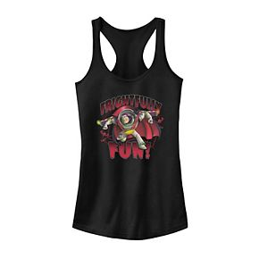 "Juniors' Disney / Pixar Toy Story Buzz Lightyear ""Frightfully Fun"" Tank Top"