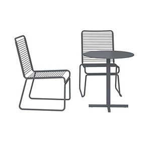 CosmoLiving Nyla Patio Chair & Table 3-piece Set
