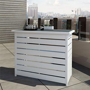 CosmoLiving Ariesa Indoor / Outdoor Bar Table