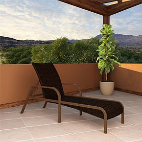 Cosco Outdoor Living SmartWick Patio Chaise Lounge