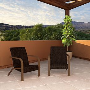 Cosco Outdoor Living SmartWick Lounge Chair 2-piece Patio Set
