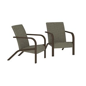 Cosco Outdoor Living SmartWick Lounge Chair 2-piece Patio Set