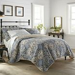 Stone Cottage Arell Blue Quilt Set
