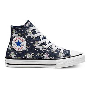 Girls' Converse Chuck Taylor All Star Unicorns High Top Shoes