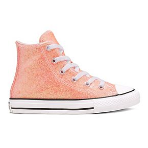 Girls' Converse Chuck Taylor All Star Coated Glitter High Top Shoes