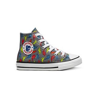 Converse Kids' Chuck Taylor All Star License Plate High Top Sneakers Toddler