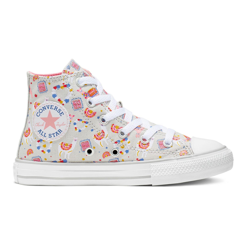 Girls' Converse Chuck Taylor All Star Llama High Top Shoes