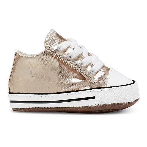 Infant Converse Chuck Taylor All Star Metallic Crib Shoes