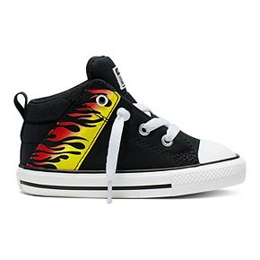 Toddler Boys' Converse Chuck Taylor All Star Axel Mid Flames Sneakers