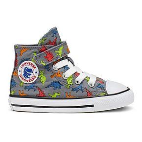 Toddler Boys' Converse Chuck Taylor All Star Interstellar Dinosaur High Top Shoes
