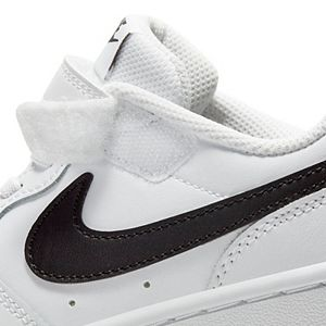 Nike Court Borough Low 2 Preschool Kids' Basketball Shoes