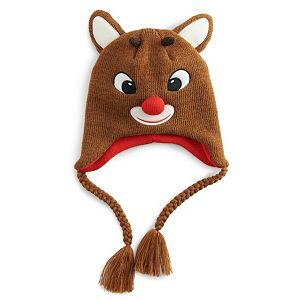 Rudolph the Red Nosed Reindeer Laplander Hat