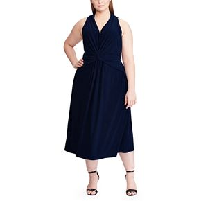 Women's Chaps Fit & Flare Sleeveless Dress