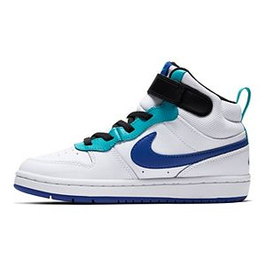 Nike Court Borough Mid 2 Preschool Kids' Basketball Shoes