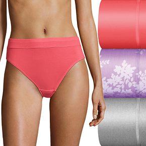 Bali Incredibly Soft 3-Pack Hi-Cut Panty DFSHC3