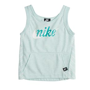 Girls 7-16 Nike Hooded French Terry Tank