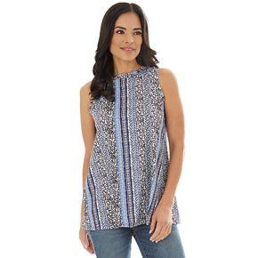 Women's Apt. 9® Allover Print Swing Tank