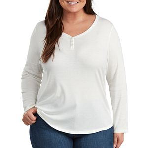 Plus Size Dickies Henley Shirt