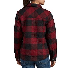 Women's Dickies Quilted Flannel Shirt Jacket