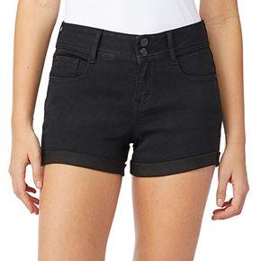 Juniors' WallFlower Ultra Mid-Rise Shorts