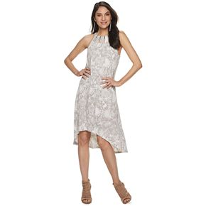 Women's Jennifer Lopez Cleo Neck Dress