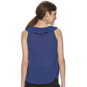 Women's Juicy Couture Ruffle-Neck Tassel Tank