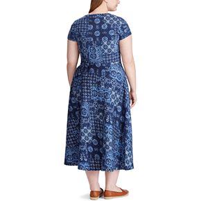 Plus Size Chaps Knit Midi Dress