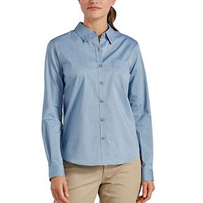 Women's Dickies Stretch Poplin Work Shirt