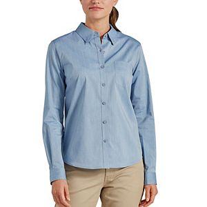 Women's Dickies Stretch Poplin Work Shirt