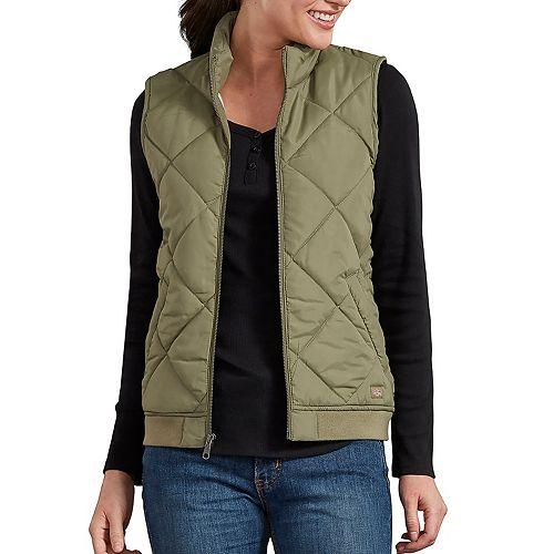 Women's Dickies Quilted Vest by Dickies