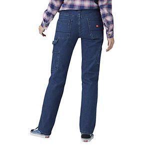 Women's Dickies Stretchy Straight-Leg Carpenter Pants