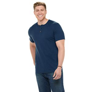 Big & Tall Sonoma Goods For Life® Modern-Fit Slubbed Henley
