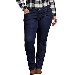Plus Size Dickies Perfect Shape Bootcut Jeans