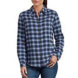 Women's Dickies Plaid Flannel Shirt