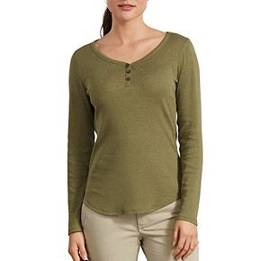 Women's Dickies Henley Shirt