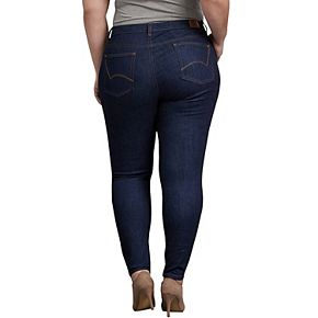 Plus Size Dickies Perfect Shape Skinny Stretch Jeans