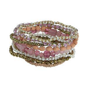 SO® Seed Bead Stretch Bracelet Set
