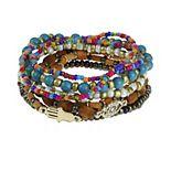SO® Hamsa & Evil Eye Stretch Bracelet Set