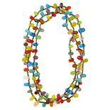 SO® Layered Glass Bead Necklace