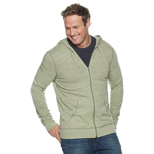 Big & Tall SONOMA Goods for Life® Lightweight Full-Zip Hoodie